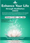 Enhance Your Life Through Meditation (Talk in English)